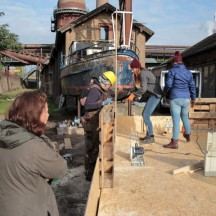 Bau des Holzhauses - Bild 5