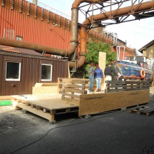 Bau des Holzhauses - Bild 4