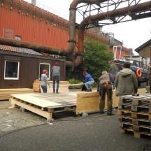 Bau des Holzhauses - Bild 2