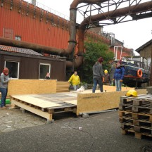 Bau des Holzhauses - Bild 3