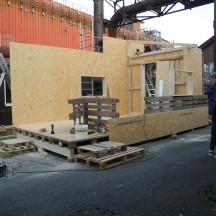 Bau des Holzhauses - Bild 6