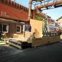 Bau des Holzhauses - Bild 7