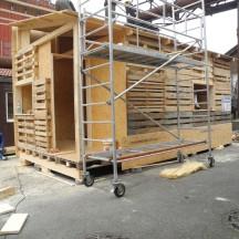 Bau des Holzhauses - Bild 10