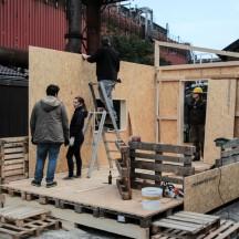 Bau des Holzhauses - Bild 8