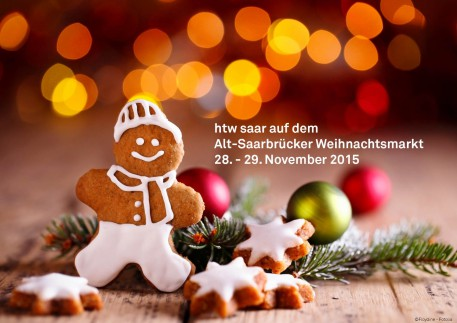 htw saar auf dem Alt-Saarbrücker Weihnachtsmarkt am 28.+29. November 2015