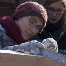 Bau des Holzhauses - Bild 16