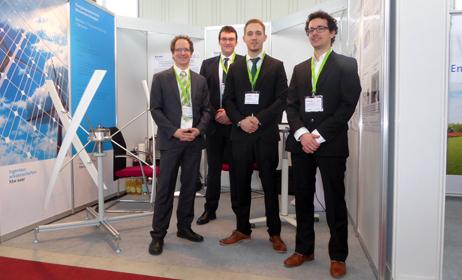Gruppenfoto Labor Windenergietechnik und Solarthermie