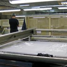 Mantero: Siebdruckverfahren