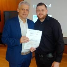 Arthur Liebhardt mit Prof. Dr.-Ing. Jürgen Griebsch
