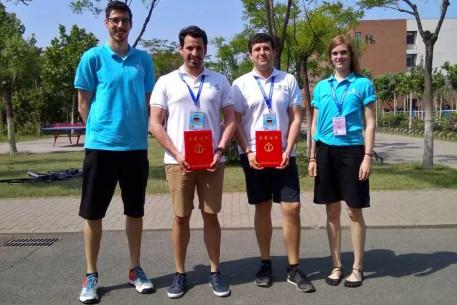 Jan Hollwich und Benedikt Mosbach belegten den zweiten Platz bei der National Vocational Skills Competition in Tianjin, China.
