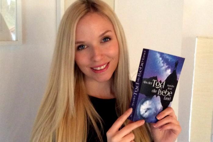 """Mariella Heyd mit ihrem Roman """"Als der Tod die Liebe fand"""""""